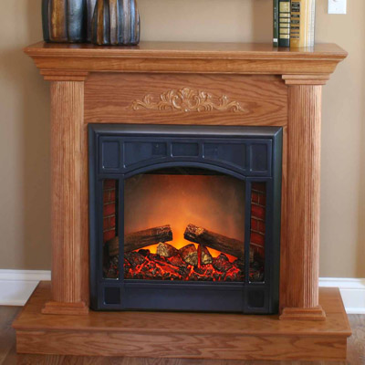 Comfort Fireplace Comfort Glow Emf162 Bookshelf Sized Mini Fireplace Heater